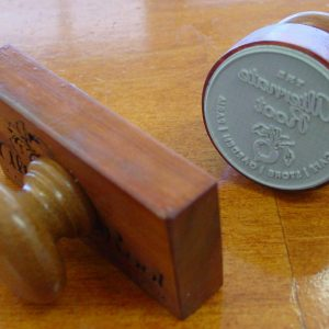 Custom Sized Rubber Stamp
